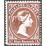 Alan's special stamp
